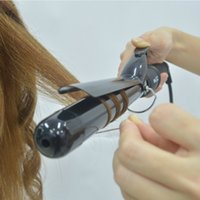 Wholesale Tech 21 Wholesale - Hair Styling Curling Iron, 1-1 4 Inch Professional Curling Wand   Ceramic Ionic Tech, Damage-free Hair Curler with Thermal Glove   Digital