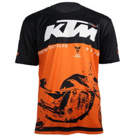 Wholesale Mountain Motorbike - KTM RACING Motocross T-shirts Motorbike Racing T-shirt Mountain Bike Cycling MTB DH MX Jersey hot selling