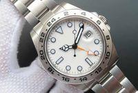 Wholesale Watch Men Chronometer - 2017 Top Brand Noob Factory V7 Version Mens Automatic Cal 3187 Movement Watch Men Black Gmt Watch Sport 42mm Chronometer Wristwatches