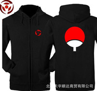 Wholesale naruto sasuke jacket online - The new fall and winter clothes men sweater Naruto Sasuke Uchiha TuanShan jacket clothes sweatershirt