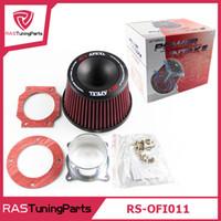 Wholesale Apexi Intake - APEXI Performance Mushroom Head Universal Intake Air Filter 75mm Dual Funnel Adapter