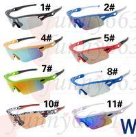 Wholesale Drop Sunglasses - SUMMER Hot Sell Men's cycling Sunglasses Famous Design Sunglasses leopard print woman outdoors glass Discount 11Colors DROP free SHIPPING
