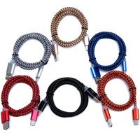 Wholesale C Link Cable - 1M USB Type C Nylon Braided Woven Charging Cable USB-C Type-C Data Sync Charge Charger Link For Oneplus