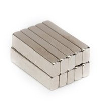 Wholesale Strong Block Magnets - 10pcs N50 20x5x3mm Strong Block Cuboid Magnets Rare Earth Neodymium Magnets