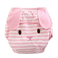 Wholesale Summer Nappy - Wholesale-Baby Ruffle Bloomers Princess Cotton Cartoon Panties Diaper Cover Nappy Shorts Briefs Summer Bottom Pants Nappy Covers