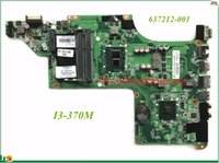 Wholesale Coaxial S Video - High Quality MB 637212-001 For HP DV6 DV6-3000 Laptop Motherboard DALX6HMB6C0 I3-370M DDR3 100% Tested&Testing Video Support