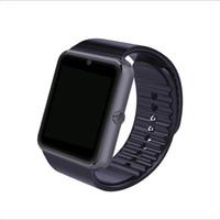 reloj smart оптовых-Смарт-часы GT08 Reloj Inteligente поддержка Sim-карты Bluetooth подключение для Iphone Android телефон Smartwatch