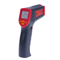 Wholesale Digital Lcd Display Infrared Thermometer - -32~530°C 12:1 Handheld Non-contact Digital Infrared IR Thermometer Temperature Tester Pyrometer LCD Display with Backlight E1511