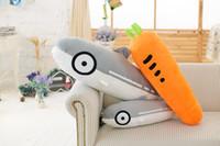 Wholesale Plush Carrot - Creative Mahal Pillow Carrot Plush Toy Large Salted Fish Shark Cartoon Long Pillow Pillow Pads Custom