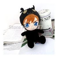 "Wholesale Kingdom Hearts Sora Plush - Wholesale 10pcs lot Anime Cartoon Kingdom Hearts Sora Plush Toy Soft Stuffed Doll Gifts 12""30CM 1206#06"