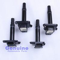 Wholesale Ignition Spark - 4Pcs Set OEM Spark Plug Ignition Coil For VW Jetta Golf VW Passat A4 A6 S6 A8 TT engine 1.8T 4.2 06B 905 115 E