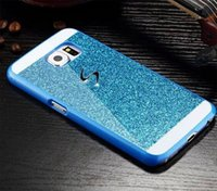 Bling Glitter Hard PC Shining Back Fall Abdeckung Haut Shell Für Samsung Galaxy Note3 Note4 Note5 billig Fall