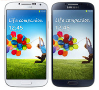 Wholesale S4 Back White - Original Samsung Galaxy S4 i9500 Mobile phone 3G Quad-core 13MP Camera Quad Core NFC Refurbished