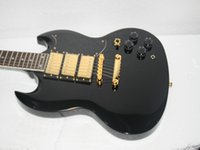 Wholesale Guitar Pickups High - New Arrival Black Electric Guitar 3 Pickups High Quality Wholesale Guitars