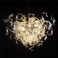 Чистая цветная стеклянная люстра, Pretty Decorative Murano Glass LED Lighting Fixture, Heart Shaped Crystal Chandelier Сделано в Китае