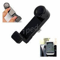 Wholesale Cheapest Universal Gps Holder - Cheapest Universal Portable Adjustable Mobile Phone Holder Car Air Vent Mount for Samsung S8 s7 edge Note iPhone 7 Plus i8 GPS retail box