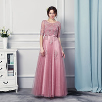 Wholesale Sexy Clothing Models - Cheap Clothes China Vestido Festa Longo 2017 Formal Dresses Evening Wear Floor Length Prom Dresses for Women