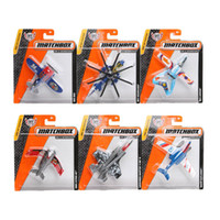Wholesale Hero City - City of Heroes Matchbox Aircraft Model mini kids toys Plastic metal miniatures Fighter Plane Helicopter Model Toys MBX airplane 68982