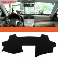 Wholesale Dashboard For Toyota Car - Interior Car Dashboard Cover Light Avoid Mat Sticker For Toyota Camry Free shipping