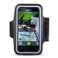 Wholesale lenovo mobiles covers - Wholesale- Top Quality Universal Waterproof Running Jogging Cycling Sport Armband Mobile Phone Holder Case Cover for Lenovo P780 MTK6589 L
