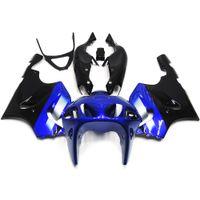 Wholesale 99 Zx7r Plastics - Full Fairings For Kawasaki ZX7R ZX-7R Year 96 97 98 99 00 01 02 03 Year 1996-2003 ABS Plastic Motorcycle Fairing Kit Body Frames Blue Black