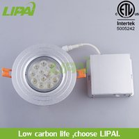 Wholesale North America Lighting - LED ceiling light with junction box for north america LED light housing ETL with led driver recessed light 6W