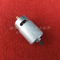 Wholesale Electric Motor 12 Dc - Free shipping! Wholsaler Charge electric drill motor DC 7.2 9.6 12 14.4 18V (14 teeth)(9.6mm) 962AF