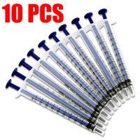 Wholesale Ml Measure - Disposable 10 Pcs 1 ML Medical Nutrient Measuring Plastic Injector Syringe New