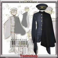 Wholesale Vocaloid Kagamine Len - Wholesale-Senbonzakura Vocaloid Kagamine LEN Cosplay Costume Cosplay Kimono Army Uniform