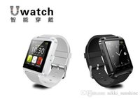 Wholesale Korean S4 - Bluetooth Smart Watch U8 Watch Wrist Smartwatch for iPhone 4 4S 5 5S Samsung S4 S5 Note 2 Note 3 HTC Android Phone Smartphones 3 COLORS