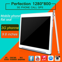 Wholesale Dock Radio - 9.6 inch tablet phone call quad Core CPU Android 5.1 Rally Ram 1GB ROM 16GB GPS WIFI FM radio Playstore Install