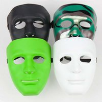 Wholesale Hip Hop Party Supplies Wholesale - Fashion Adult Kids Masquerade Hip-hop Face dance Party Mask Cosplay Carnival Costumes Party Supplies Halloween Gift