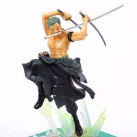 Wholesale Tiger Animation - One Piece Roronoa Zoro Two Years After Tiger Hunt three swords figure for Comic and Animation fans
