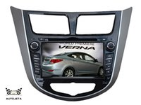 Wholesale Dvd For Hyundai Verna - 4UI intereface combined in one system CAR DVD PLAYER FOR Hyundai Solaris accent Verna i25 2011+ Bluetooth GPS NAVI RADIO stereo