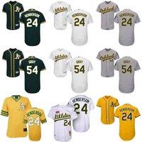 Wholesale Men S Athletic - 2016 Flexbase Men's Oakland Athletics #24 Ricky Henderson #35 #44 Reggie Jackson 34 Rollie Fingers 33 Jose Canseco baseball jerseys Stitched