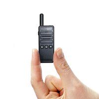 Wholesale Icom Walkie Talkie Radios - Super mini walkie talkie 16CHS uhf transceiver 400-480mhz ham radio handheld two way radio Motorola icom yaesu hyt cb radio quality