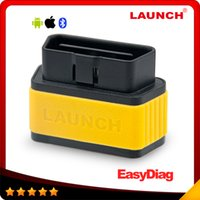 Wholesale X431 Bluetooth - 2016 100% Original Launch x431 EasyDiag for IOS & Android easy diag OBDII Generic Code Reader Scanner 10pcs lot DHL free