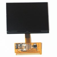 Wholesale Vw Vdo Display - Free Shipping New VDO LCD Display for Audi A3 A4 A6 for VW with High Quality