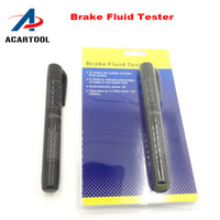 Wholesale Code Pen - 2016 HOT Brake Fluid Tester Pen 5 LED Car Vehicle Auto Automotive Testing Tool Car Vehicle Tools Diagnostic Tools