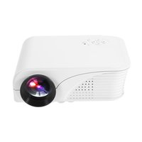S320 Portable LED Home Theater Projector 1800 Machine de projection Lumens 1080P USB HDMI AV Micro SD Télécommande V2348
