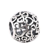 Wholesale animal jewellery beads - 2017 Winter New Authentic 925 Sterling Silver Believe Openwork Beads for Jewelry Making Fits Women Diy Jewellery Bracelets BF1