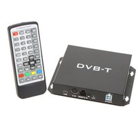 Wholesale Digital Tv Receiver Analog - DVB-T Various Channel Mobile Car Digital TV Box Analog Mini TV Tuner High Speed 240km h Strong Signal Receiver for Car Monitor