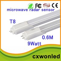 Wholesale Pf Led Light - 18w G13 t8 radar 1200mm motion microwave sensor t8 led tube 2700-6500K High PF AC85-265V Park lighting