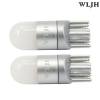 Wholesale marker lights for sale - WLJH K White Car Light T10 W5W Led Wedge Bulb SMD Auto High Quality Dome Reading Parking Lights Sidemarker Sidelight Lamp Bulbs