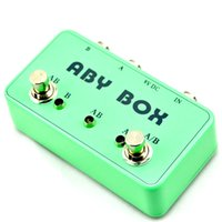 Wholesale Box Effects Pedal - TTONE A B Y Pedal Box True Bypass Guitar Effects Switch A B Y ABY Switcher@IN STOCK!!