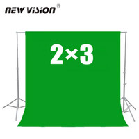 Wholesale Green Fabric Background - Wholesale- 2x3m Green Non-woven fabric Photo Photography Backdrop Background Cloth
