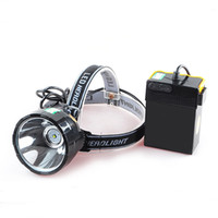 Wholesale Miners Headlamp For Hunting - 15W T6 LED headlamp Miners Lamp waterproof head led light rechargeable headlight for fishing hunting camping professional workers