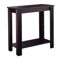 Wholesale Wood Furniture Sofa Chair - Chair Side Table Coffee Sofa Wooden End Shelf Living Room Furniture New