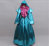 Wholesale Cinderella Costume For Women - Wholesale-Cinderella Fairy godmother cosplay costume for adult women Cinderella godmother costume godmother dress