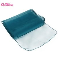 """Wholesale Blue Organza Table Runners - Blue 12""""x108"""" Organza Table Runner Wedding Banquet Products wedding decoration event party supplies"""